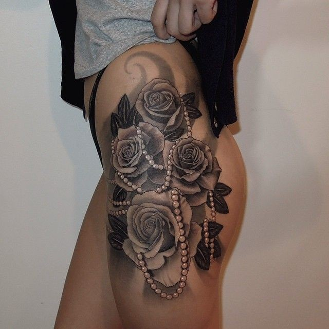 black ink roses wi...
