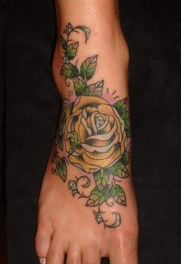 rose of jericho tattoo